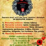 plakat bobowska szkoła tradycji szabasówka